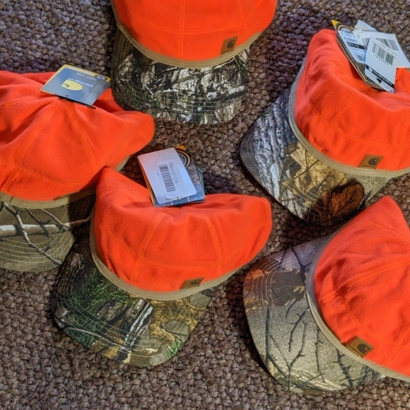 Carhartt Other - 🏹 ALL 5! Carhartt Hunting Hat Camo Orange